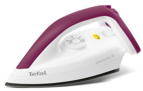 Tefal Trockenbügeleisen FS4030 Easygliss | 1200W | Durilium Bügelsohlen-Technologie | Thermostat |...