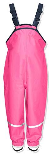 Playshoes Unisex Kinder Regenhose, Buddelhose, Matschhose, Rosa (Pink)Gr.116