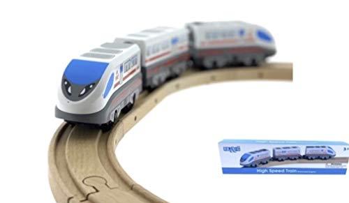 RB&G elektrische Eisenbahn / kombinierbar mit Allen handelsüblichen Marken / für Holzeisenbahn Bahn