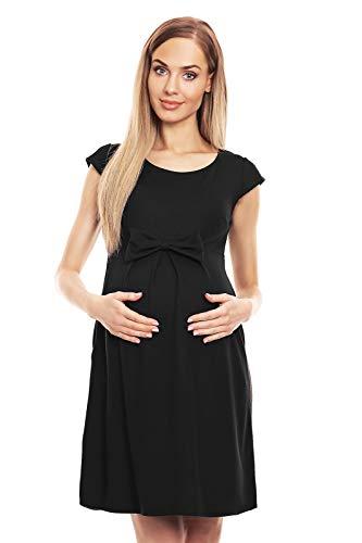 Selente Mummy Love 0129 modisches Umstandskleid (Made in EU) Schwangerschaftskleid Umstands-Freizeitkleid, Mit...