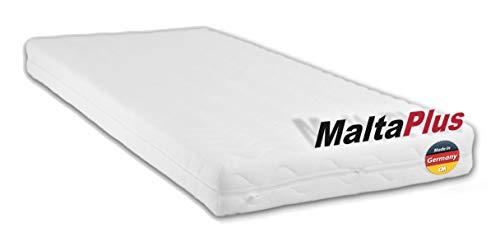 Schaumstoffmatratze MALTA PLUS. Kaltschaum 90 x 200 cm. Matratze RG40 Kaltschaum. Punktelastisch, atmungsaktiv...