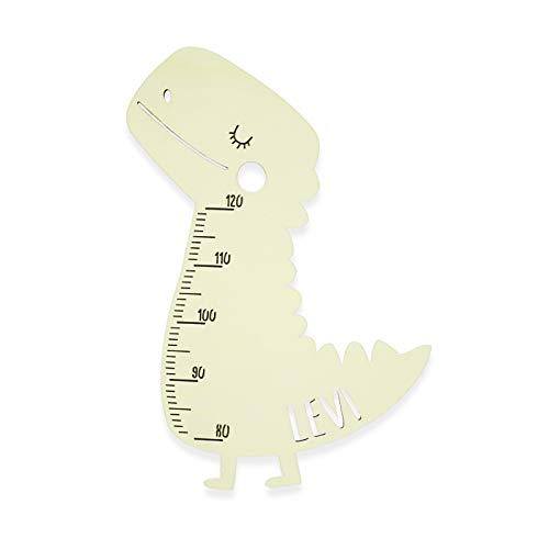 Messlatte Kind Größe Modell Dino Kinderzimmer-Messlatte/Tauf-Geschenk oder zur Geburt/Personalisiert mit...