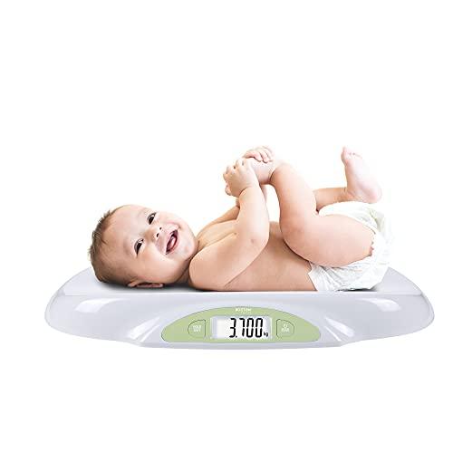 Babywaage Digitale Kinderwaage und Haustiere bis 25Kg | LED-Digitalanzeige Gewichtskontrolle ab Geburt Hohe...