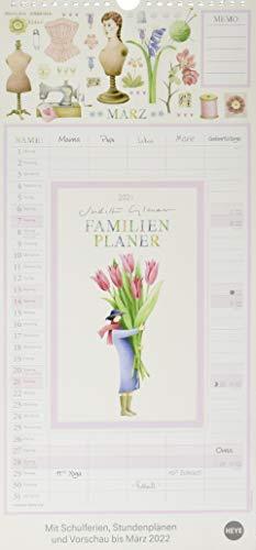Judith Glover: Familienplaner Kalender 2021