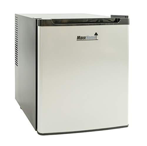 MaxxHome - Mini Kühlschrank (42L) mit Kühlbereich von 5-12° - Lautloser Kleiner Kühlschrank - 230V...