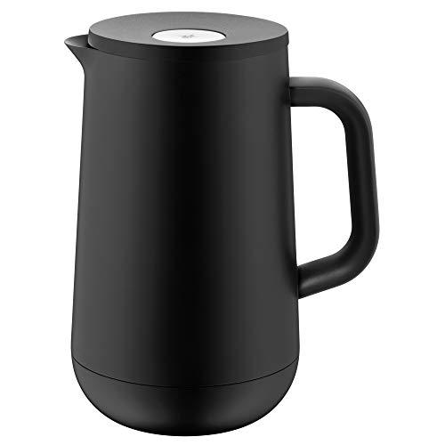 WMF Impulse Thermoskanne 1l, Isolierkanne für Tee oder Kaffee, Druckverschluss, hält Getränke 24h kalt &...