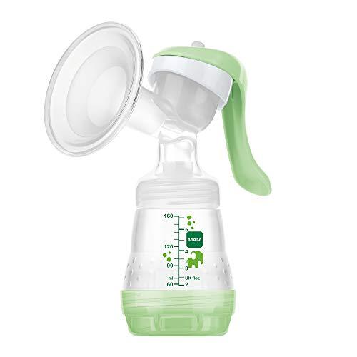 MAM Handmilchpumpe – Komfortable und kompakte Milchpumpe, einzigartig upgradebar – Handpumpe für...