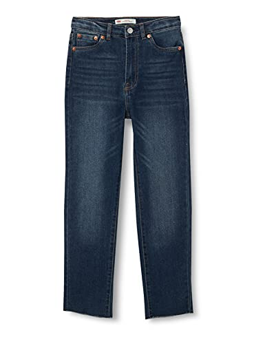 Levi's Kids LVG RIBCAGE ANKLE STRAIGHT C609 Hose - Mädchen From The Block 5-7