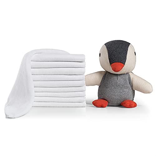 Laleni 10er Set Mulltücher Spucktücher Baby - Mullwindeln, Oeko-Tex zertifizierte Premium Qualität, 100%...
