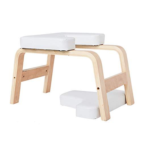 LWKBE Yoga Inversion Bench Headstand Requiside Auf dem Kopfstuhl für Familie und Fitnessstudio, lindert...