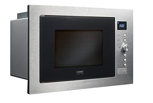 Caso EMCG32 3-in-1 Einbau-Mikrowelle mit Grill und Heißluft 2500W | Backofen-Funktion, 140 - 230°C, 60cm...