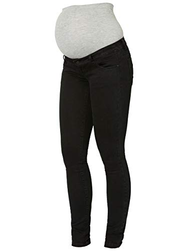 MAMALICIOUS Mama Licious Female Umstandsjeans Slim Fit 2832Black