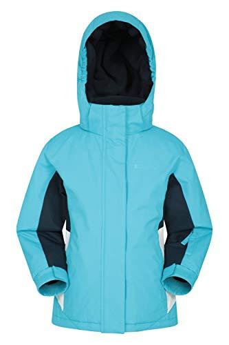 Mountain Warehouse Honey Skijacke für Kinder - Schneedicht, verstellbare Bündchen, Kinderjacke mit...