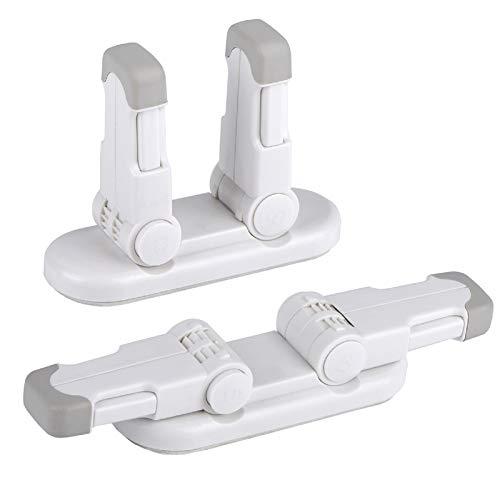 REDTRON Universal Kindersicherung für Türen, 2 pack Kinder Türhebelschloss mit 3M Klebstoff, Baby...