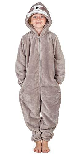 CityComfort Kinder Jumpsuits Kostüm Tier Onesie, Super Kuscheliger Schlafanzug Mädchen Kigurumi Pyjamas...