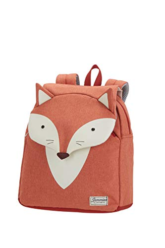 Samsonite Happy Sammies - Kinder-Rucksack S, 28 cm, 7.5 L, Orange (Fox William)