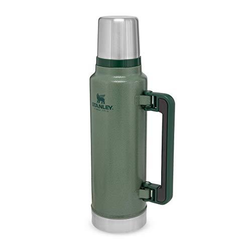 Stanley Classic Legendary Bottle Edelstahl-Thermoskanne, | BPA-frei |Hält 40 Stunden heiß | Deckel fungiert...