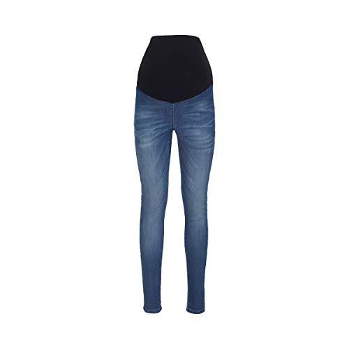 2HEARTS Umstands-Jeans Jeggings Denim blau/Umstandshose/Schwangerschaftshose/Damen Umstandsmode/Jeans für...