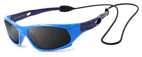 VATTER TR90 Unzerbrechlicher Polarisierte Sportbrille Sonnenbrillen für Kinder Jungen Mädchen Jugend DE...