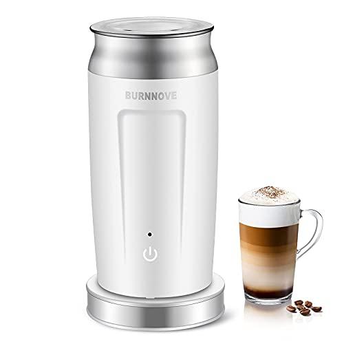4 in 1 Automatische Milchaufschäumer 500W Edelstahl Elektrische Milchschäumer 240ml für Kalten und Heißen...
