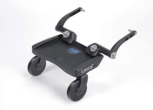 Lascal BuggyBoard Mini 3D, Kinderbuggy Trittbrett mit strukturierter Stehfläche, Kinderwagen Zubehör für...