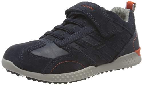 Geox Boys J SNAKE.2 BOY Sneaker, Navy,39 EU