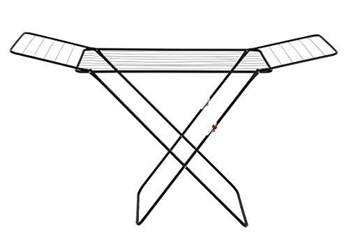 WENKO Wäschetrockner Champion, Flügel-Wäscheständer mit 18 Meter Trockenlänge, Kindersicherung,...