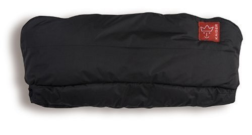 Kaiser 6571725 - Handwärmer Alaska, Farbe: schwarz