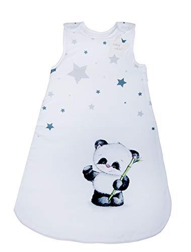 Herding Baby Best Baby-Schlafsack, Panda Motiv, 90 cm, Seitlich umlaufender Reißverschluss und Druckknöpfe,...