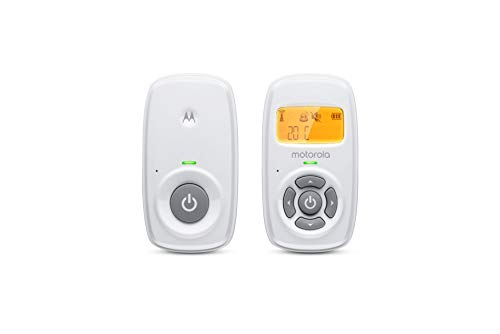 Motorola MBP24 Babyphone Audio - Digitales Babyfon mit DECT-Technologie zur Audio-Überwachung -...