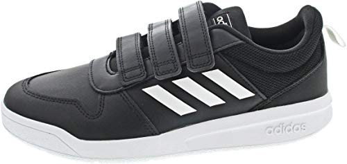 adidas Unisex-Kinder Tensaur C Leichtathletik-Schuh, Cblack Ftwwht Cblack, 30 EU