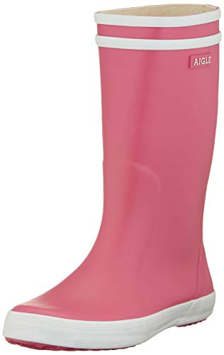 Aigle Unisex-Kinder Lolly Pop Gummistiefel Pink (new Rose) 37 EU