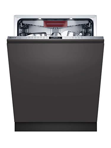 NEFF S257ECX21E N70 XXL-Geschirrspüler vollintegrierbar / 60 cm / Home Connect / TimeLight / Chef 70 / 8...
