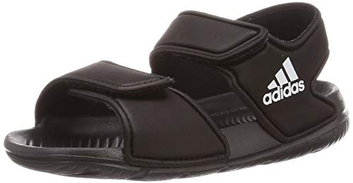 adidas Unisex-Baby AltaSwim Sandal, Core black/Ftwr white/Core black, 26 EU