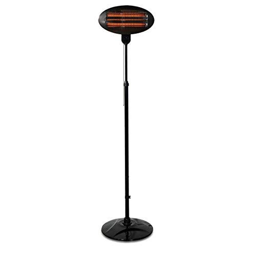 Navaris Baby Heizstrahler Wärmelampe mit Standfuß - 3 Stufen Wickeltisch Wärme Lampe mit Stand -...