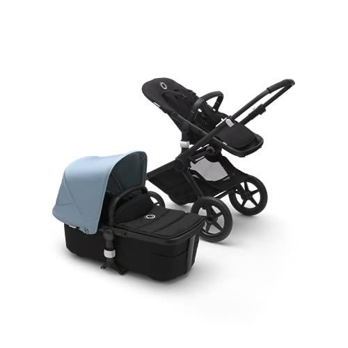 Bugaboo Fox 2, Ultimativer 2-in-1 Kinderwagen: Leichter Komfort-Buggy für jedes Terrain, 0-4 Jahre, schwarzes...