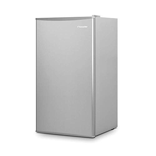 Inventor Mini-Kühlschrank 93L, Energieklasse A ++, Farbe Silber, leise ideal für die Küche, das...