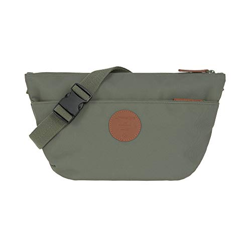 LÄSSIG Bauchtasche mit Kinderwagenbefestigung/Green Label Buggy Bum Bag Adventure, olive