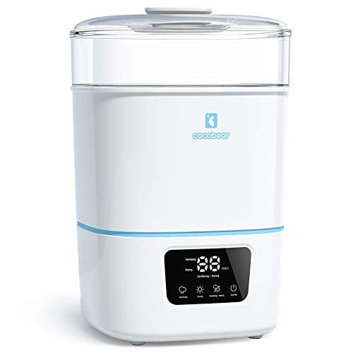CocoBear 3-in-1 Electric Steam Sterilisator und Trockner Premium für bis zu 6 Baby Bottles, Pacifiers, Pumpen...