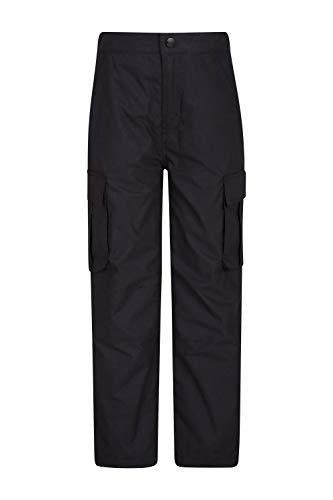 Mountain Warehouse Winter Trek Youth Hose - Schnelltrocknende Kinderhose, 4 Taschen, schrumpffrei und...
