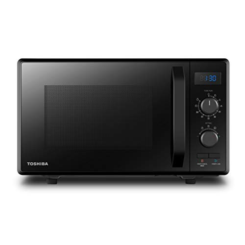 Toshiba MW2-AG23PF(BK) Mikrowelle / 3-in-1 Mikrowelle mit Grill & Kombi-Funktion / 23L / 900W / 1000W...