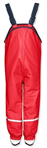 Playshoes Kinder Regenlatzhose, Rot, 116