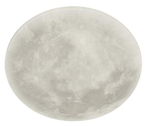 Trio Leuchten LED Deckenleuchte Lunar 627514000, Acryl mit Mondmotiv, Mondphase wechselbar, 1 x 22 Watt LED,...