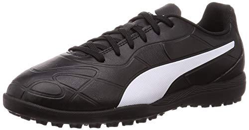 Puma Monarch TT Jr, Unisex-Kinder Fußballschuhe, Schwarz (Puma Black-Puma White), 31 EU