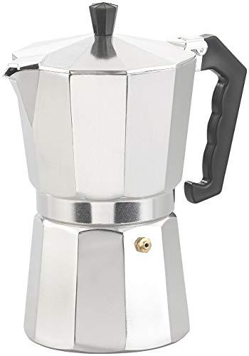 Cucina di Modena Espressomaschine: Espresso-Kocher für 9 Tassen, 400 ml, für Gas- & Eletroherde geeignet...