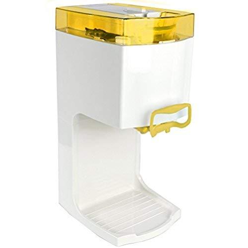 4in1 Gino Gelati GG-50W-A Yellow Softeismaschine Eismaschine Frozen Yogurt-Milchshake Maschine Flaschenkühler