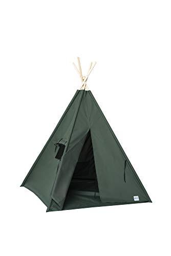 cozydots - Tipi Zelt für Kinder, Kinderzelt - Wasserdicht Set Indianerzelt für Kinder Outdoor und Indoor...