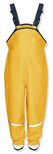 Playshoes Regenlatzhose Textilfutter 405514 Unisex - Kinder Hosen/ Lang, Gr. 116 Gelb (gelb 12)