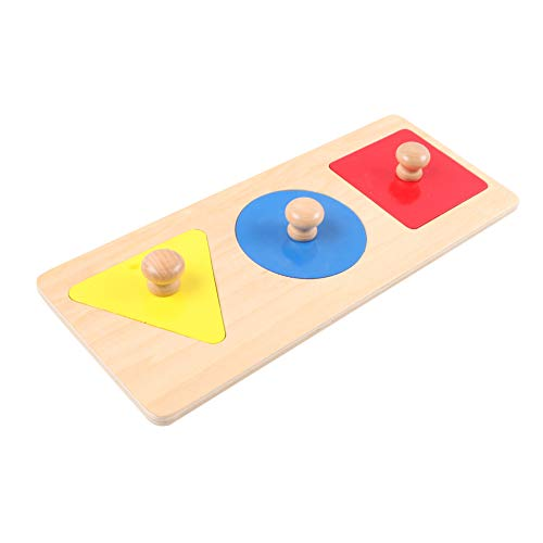 Montessori 4 you Montessori Material, Lernmaterial für geometrische Formen, 3Formen
