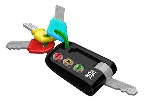 Tech-Too DES13810 Meine ersten Schlüssel, Autoschlüssel für Babys und Kleinkinder, Spielzeugschlüssel mit...